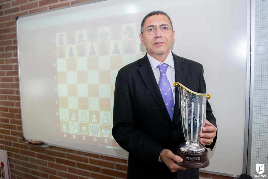 Héctor Elissalt, Primer Campeón De España De Ajedrez Dos Años Consecutivos