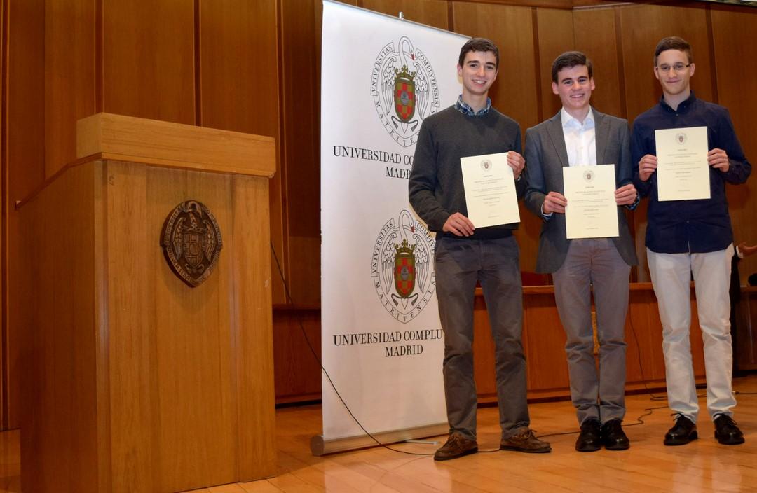 Alumnos Mejores Notas PAU 2016 - Fundación Tajamar
